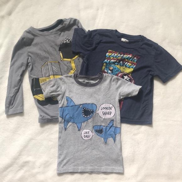 Boys T-Shirt Bundle Size 4T